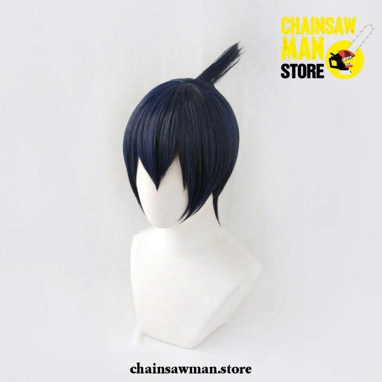 aki hayakawa chainsaw blue wig